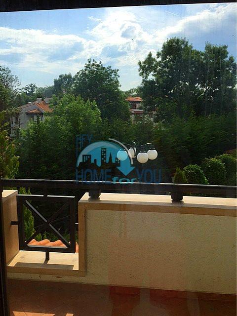 Меблированная трехкомнатная квартира на первой линии в Оазис Резорт & Спа, с.Лозенец 10