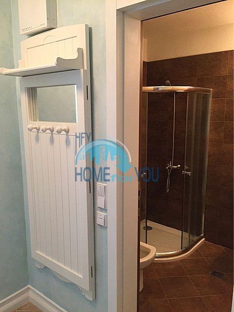 Меблированная трехкомнатная квартира на первой линии в Оазис Резорт & Спа, с.Лозенец 3