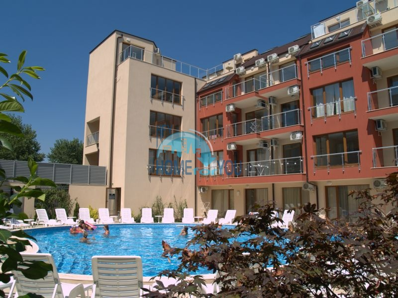 Апарт-отель Онегин на первой линии моря в городе Созополь