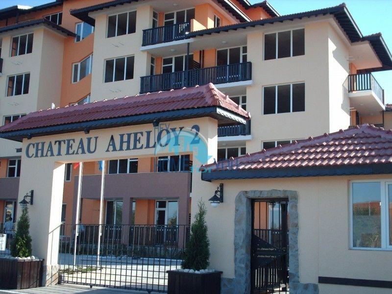 Двухкомнатная квартира с видом на море на второй линии в городе Ахелой 4