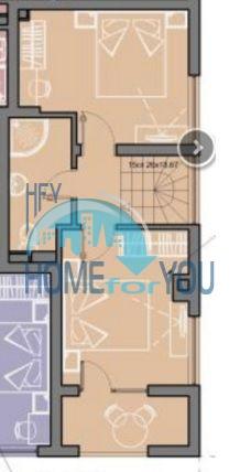 Элитный таунхаус с тремя спальнями в комплексе Венера Палас 12