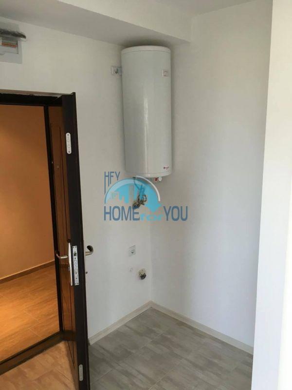 Новая трехкомнатная квартира с видом на море в комплексе Лили Бийч Ризорт, Созополь 6
