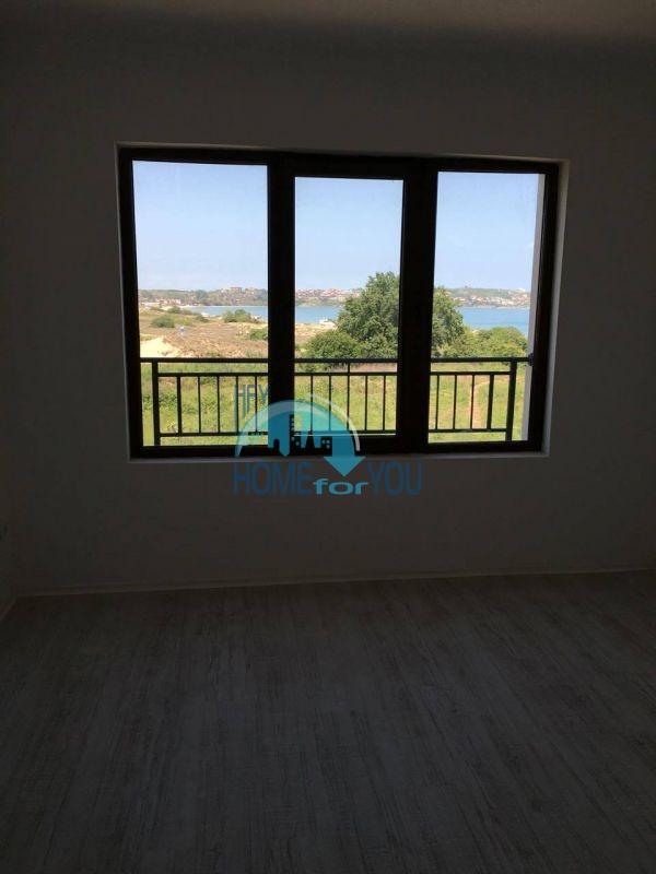 Новая трехкомнатная квартира с видом на море в комплексе Лили Бийч Ризорт, Созополь 11