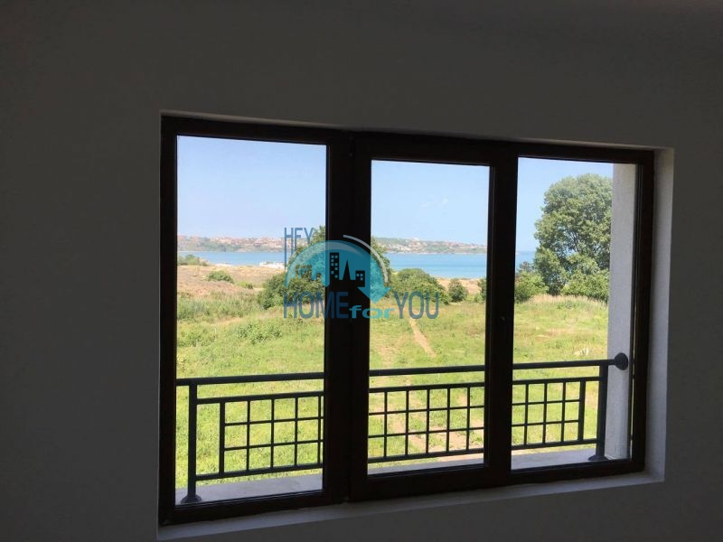 Новая трехкомнатная квартира с видом на море в комплексе Лили Бийч Ризорт, Созополь 12