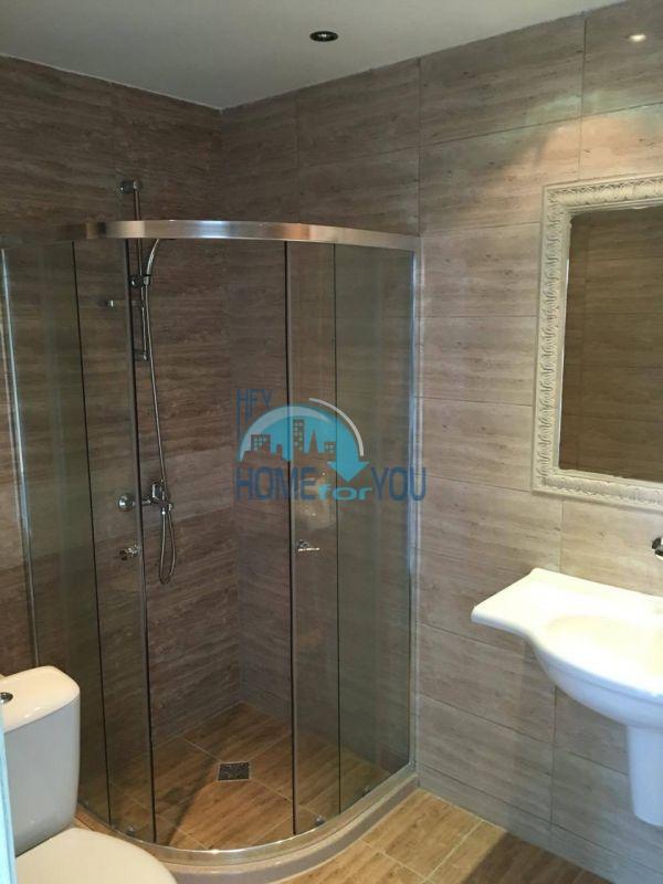 Новая трехкомнатная квартира с видом на море в комплексе Лили Бийч Ризорт, Созополь 13