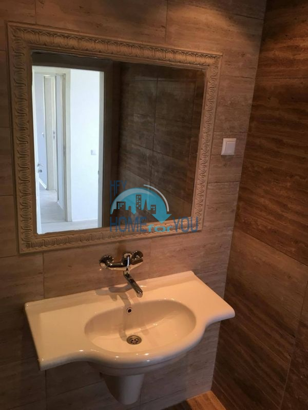 Новая трехкомнатная квартира с видом на море в комплексе Лили Бийч Ризорт, Созополь 16