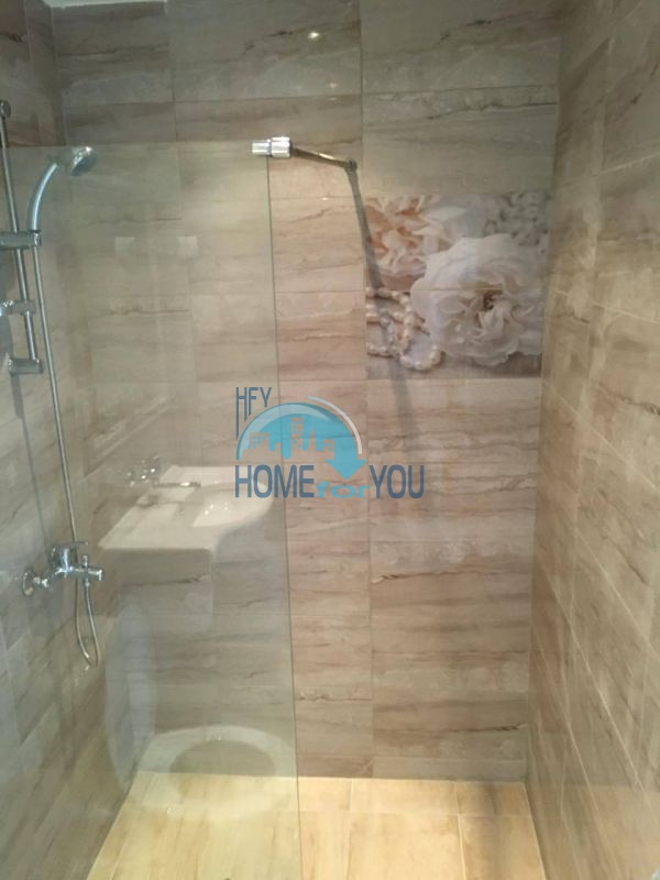 Новая трехкомнатная квартира с видом на море в комплексе Лили Бийч Ризорт, Созополь 17