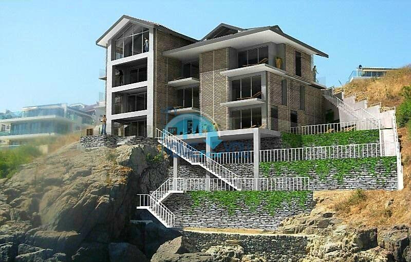 Новые квартиры с видом на море в Созополе, пляж Каваци