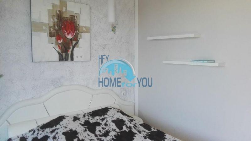 Очень просторная двухкомнатная квартира для ПМЖ на курорте Солнечный берег 8