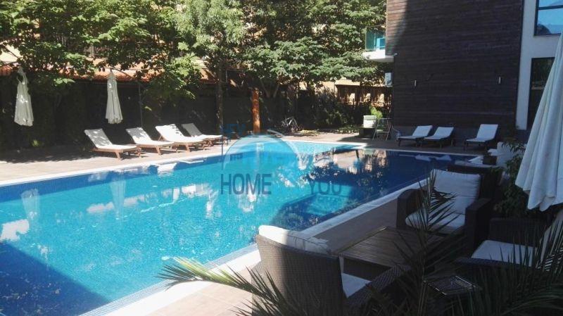 Очень просторная двухкомнатная квартира для ПМЖ на курорте Солнечный берег 18