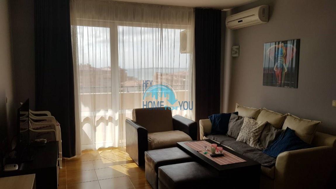 Отличная, большая квартира с панорамным видом на море, на курорте Святой Влас