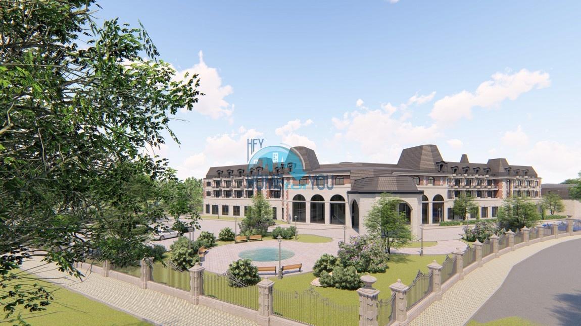 Уникальный отель с обширной территорией в бальнеологическом курорте Баня, Карлово
