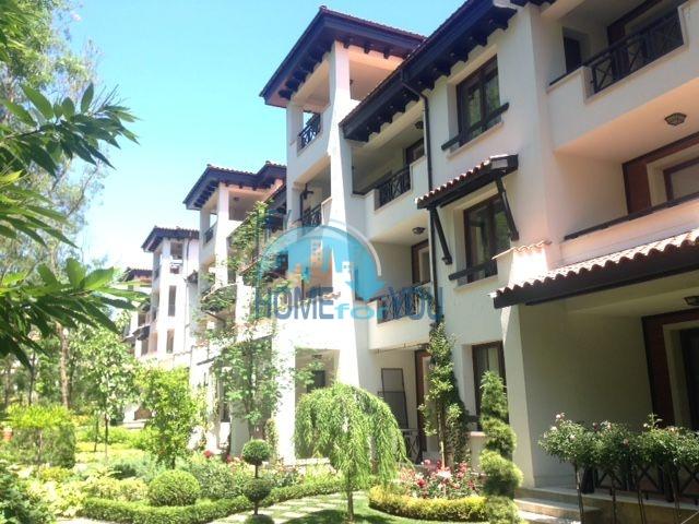 Роскошный трехкомнатный апартамент с выходом в сад с террасы в элитном Оазис Резорт и Спа, Лозенец 12