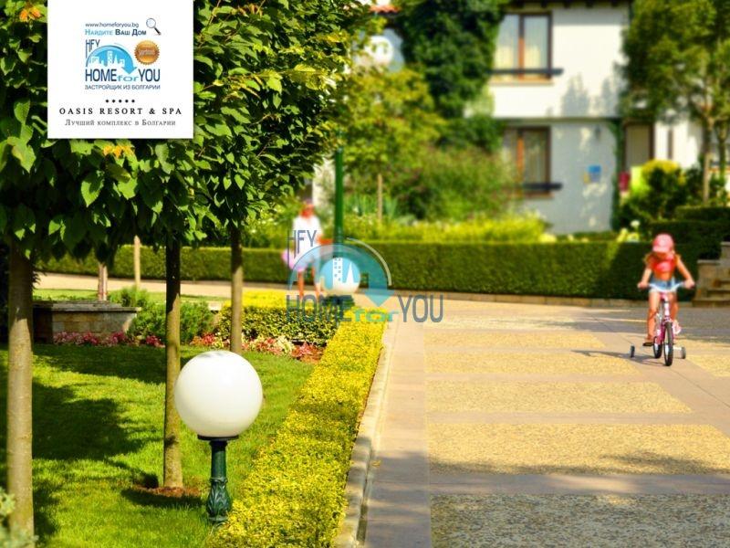 Роскошный трехкомнатный апартамент с выходом в сад с террасы в элитном Оазис Резорт и Спа, Лозенец 22