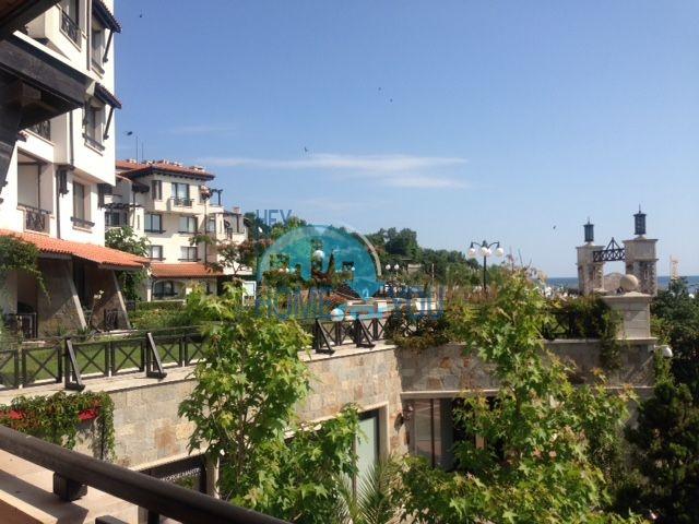 Элитная трехкомнатная квартира с прекрасным видом на море в шикарном Oasis Resort & Spa, Лозенец 9