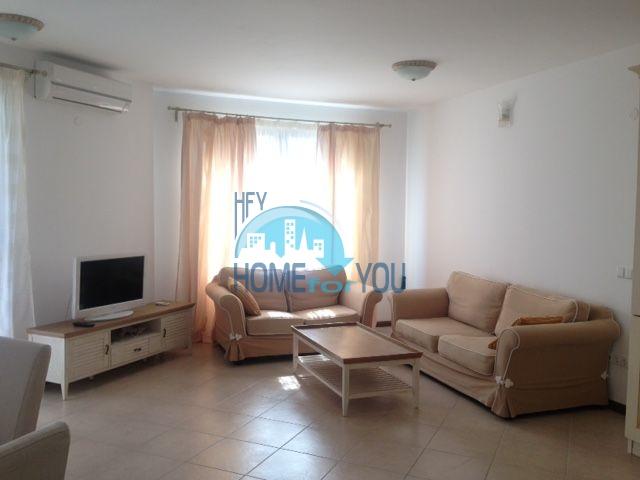 Элитная трехкомнатная квартира с прекрасным видом на море в шикарном Oasis Resort & Spa, Лозенец 6