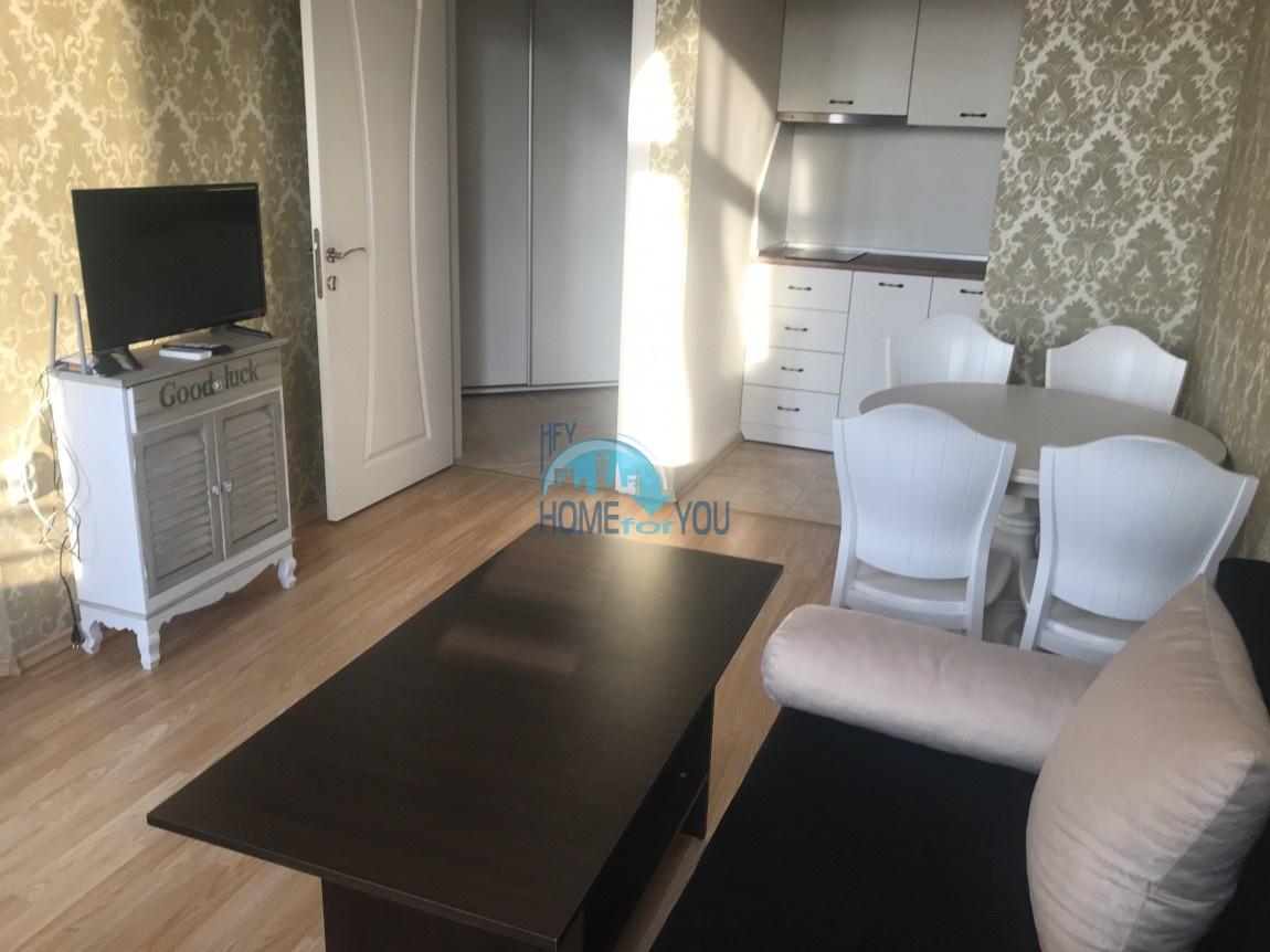 Стильный двухкомнатный апартамент в шикарном комплексе Мелия-9, курортный городок Равда