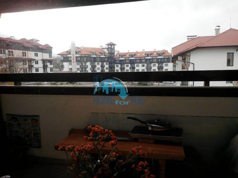 Трехкомнатная квартира в зимнем курортном комплексе Банско 7