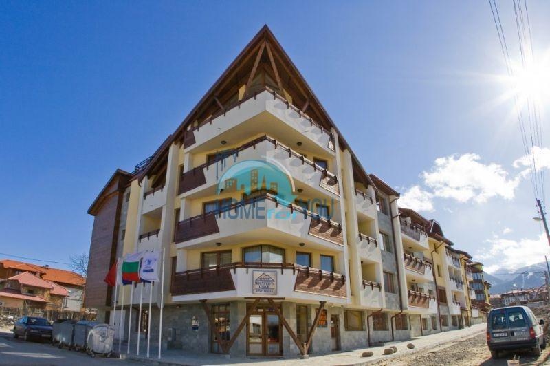 Трехкомнатная квартира в зимнем курортном комплексе Банско