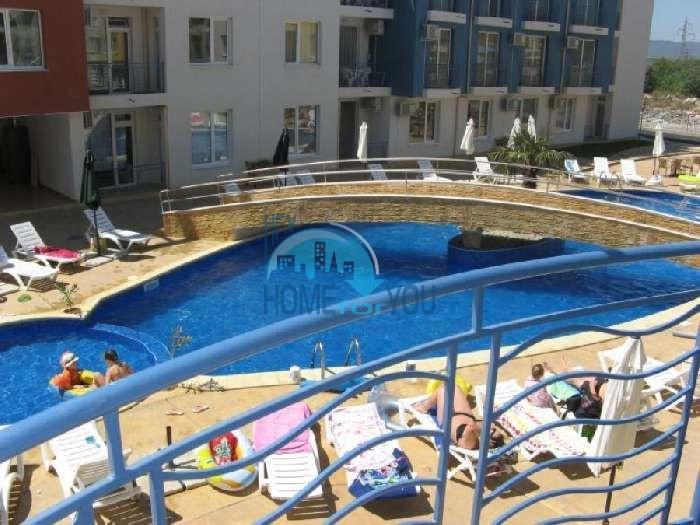 Духкомнатная меблированная квартира у моря в Солнечном Береге