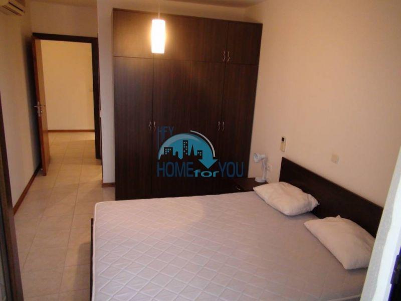 Трехспальный меблированный апартамент с видом на море на первой линии в г. Черноморец 16
