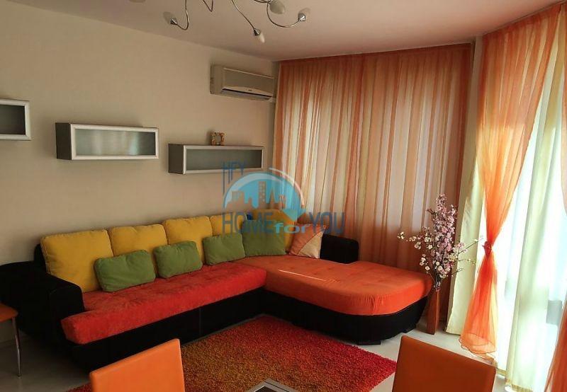 Уютная трехкомнатная квартира с современным дизайном в Бургасе, квартал Сарафово