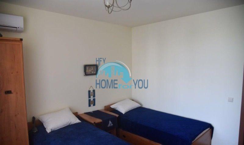Уютная трехкомнатнная квартира на первой линии с видом на море в Равде 7