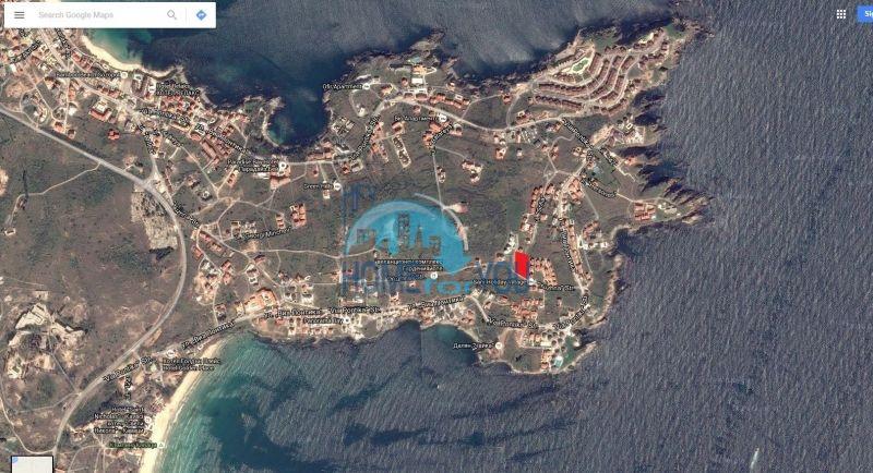 Земельный участок с прекрасным расположением и видом на море в Созополе