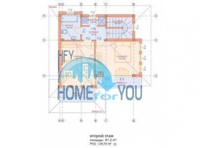 Новый готовый дом для ПМЖ в селе Близнаци 14