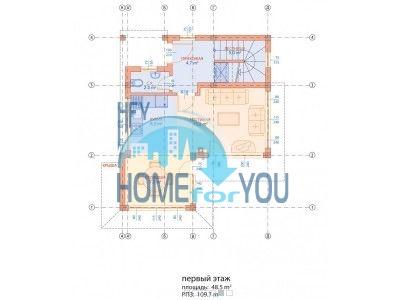 Новый готовый дом для ПМЖ в селе Близнаци 13