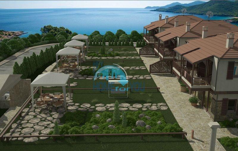 Дома и мезонеты в комплексе на Amouliani Island, Халкидики, Греция 5
