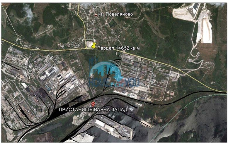 Продается земельный участок в г. Девня в 20 км от Варны