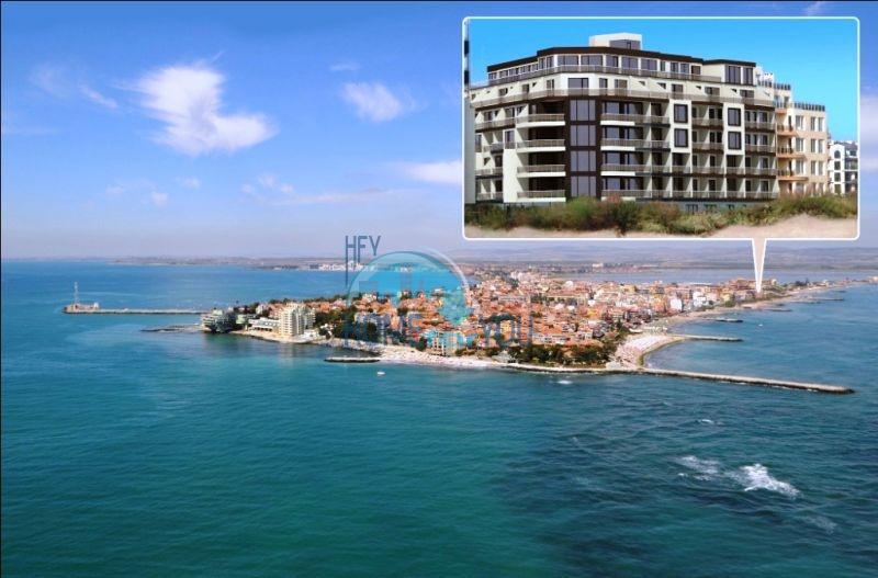 Продаются квартиры на первой линии в Поморие в комплексе Афины 3