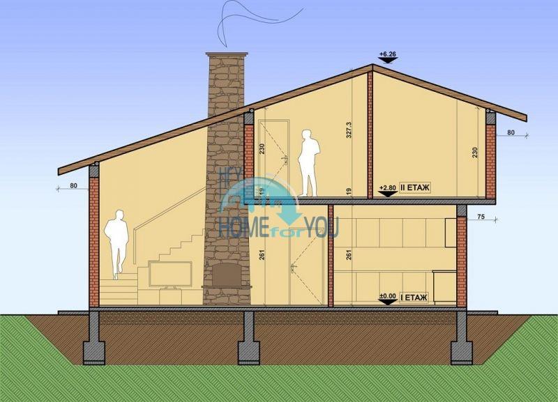 Новый капитальный дом для ПМЖ в селе Маринка 4