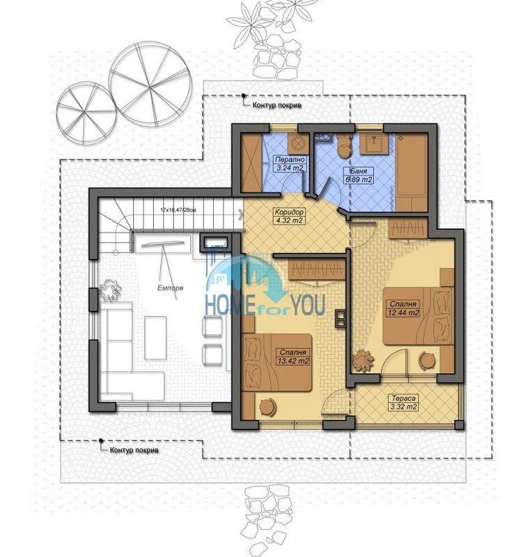 Новый капитальный дом для ПМЖ в селе Маринка 5