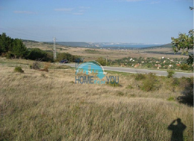 Урегулированный земельный участок под строительство в 4 км. от моря в п. Осеново 4