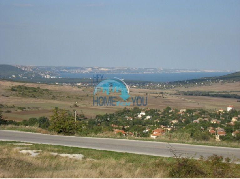 Урегулированный земельный участок под строительство в 4 км. от моря в п. Осеново