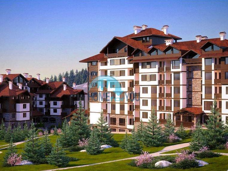 Квартиры на продажу в горах - комплекс Боровец Гарденс 2