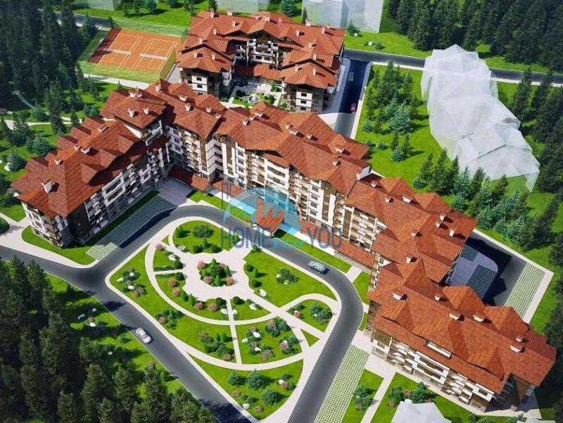 Квартиры на продажу в горах - комплекс Боровец Гарденс 3