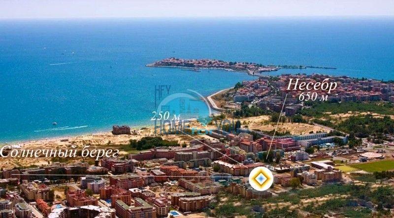 Элитная недвижимость Болгарии - пентхаус на курорте Солнечный берег 4