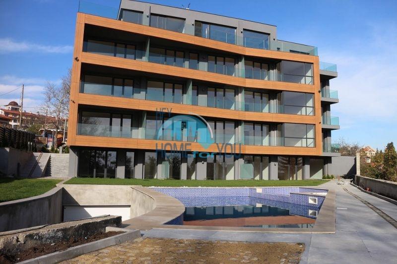 Элитные апартаменты в комплексе Santa с видом на море в г. Варна 4