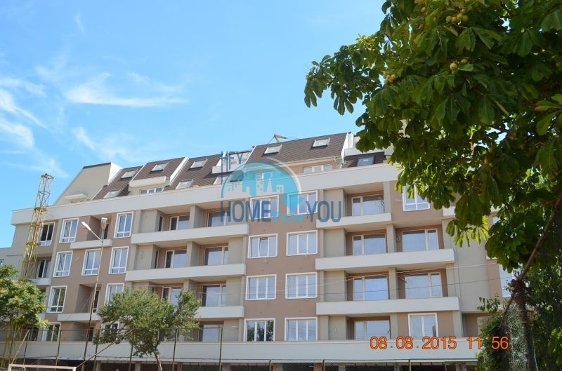 Прекрасные квартиры под ключ в жилом доме в самом центре г. Поморие