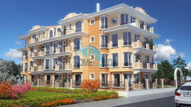 Комфортабельні апартаменти у вишуканому житловому будинку в центрі міста Равда - комплекс