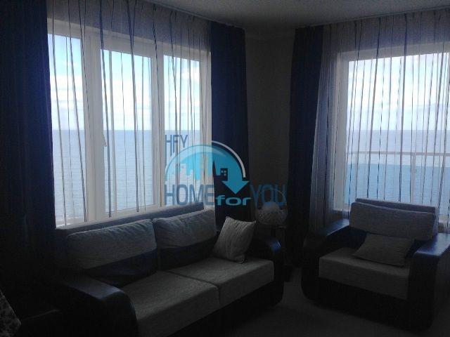 Меблированная квартира с видом на море в городе Царево  2