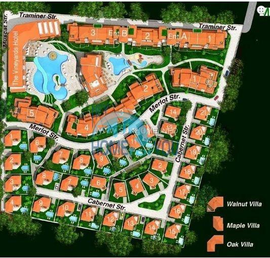 Квартиры в элитном комплексе Виньярдс Резорт вблизи Ахелоя 21