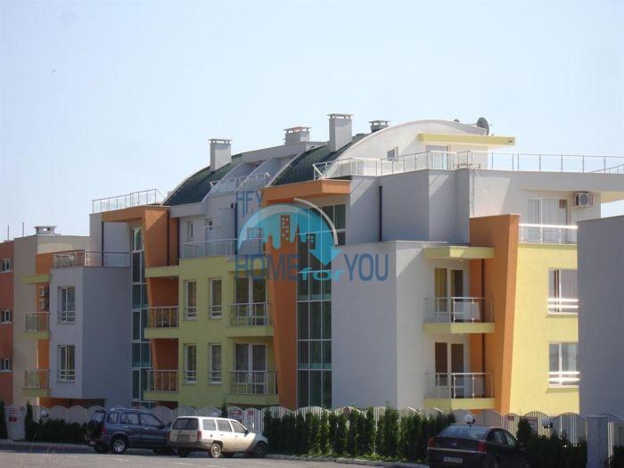 Первая линия - двухкомнатная квартира с панорамным видом на море в Святом Власе 6