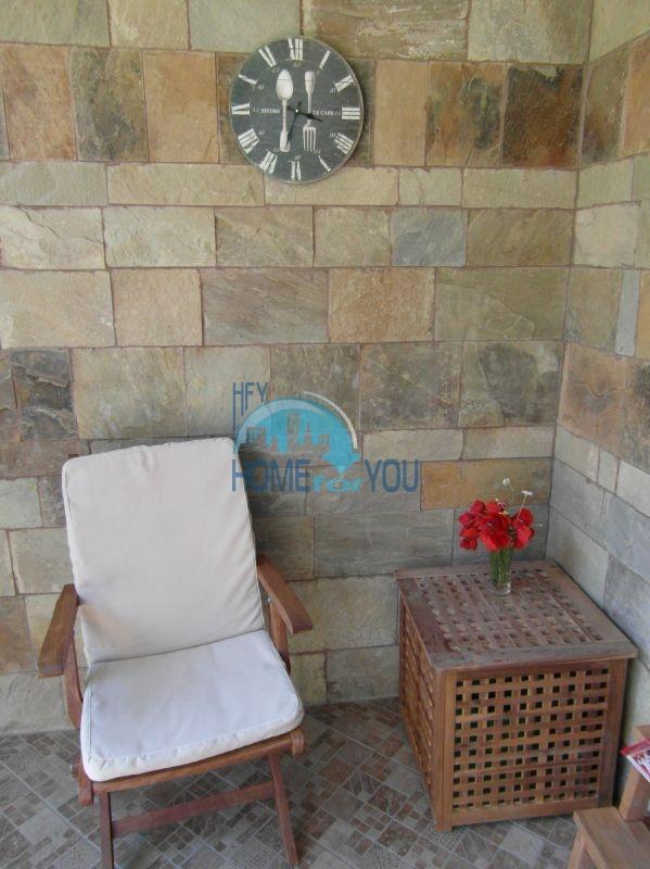 Двухкомнатная квартира с мебелью на первой линии - Санта Марина 18
