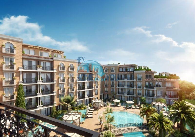 Квартиры в рассрочку в строящемся комплексе на Солнечном берегу