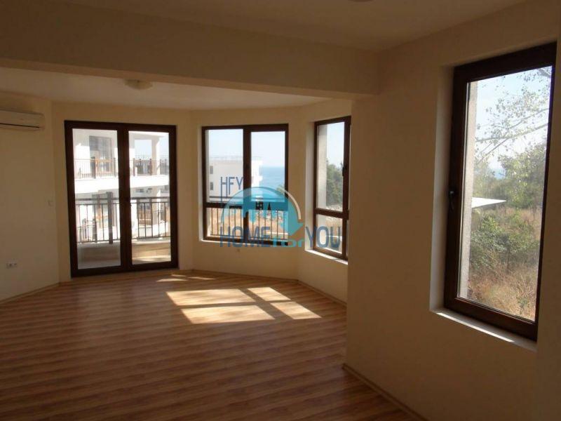Отличная квартира с морской панорамой в Бяле