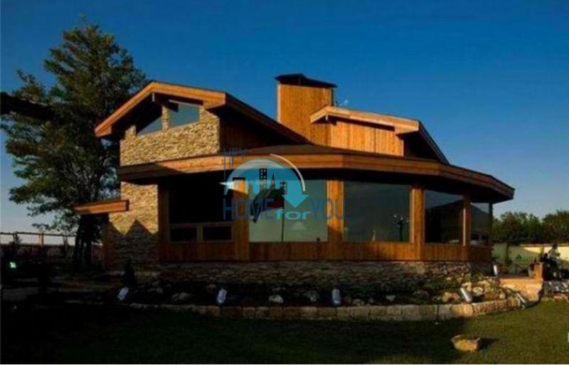 Уникальный дом из канадского красного кедра 2